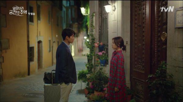 """""""Ký Ức Alhambra"""" tập 1: Hyun Bin bị Park Shin Hye cho ăn hành tơi tả 1"""