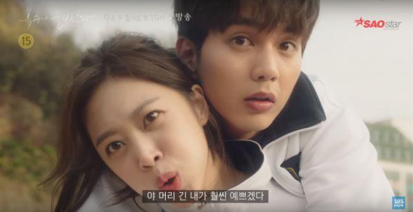 """Teaser 3 của """"My Strange Hero"""": Jo Ah Bo chửi thề và quá khủng khiếp 2"""