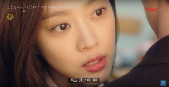 """Teaser 3 của """"My Strange Hero"""": Jo Ah Bo chửi thề và quá khủng khiếp 4"""