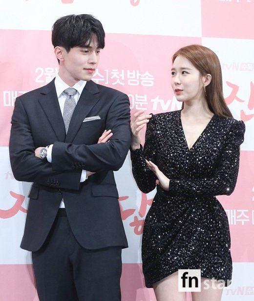 Họp báo ra mắt 'Touch Your Heart': Yoo In Na và Lee Dong Wook đẹp đôi quá! 14