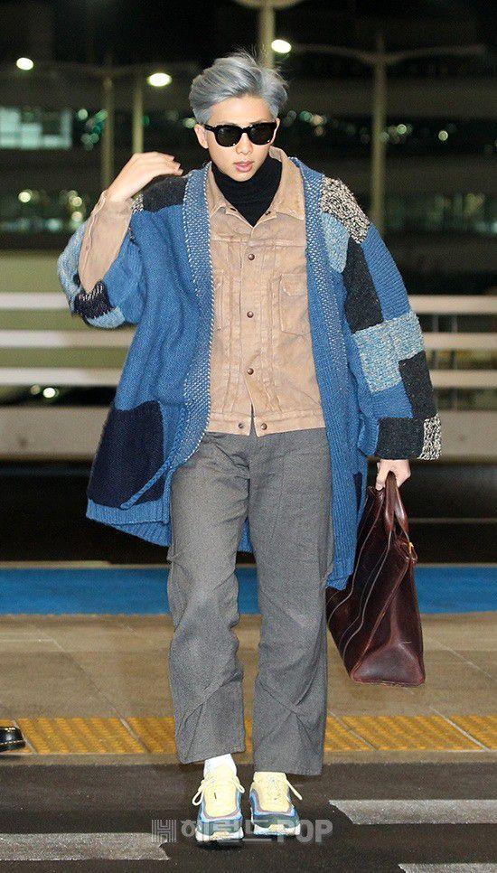 Sân bay Incheon ngày 11/1: Cuộc đổ bộ của Irene, Taeyeon, Dara và BTS 18