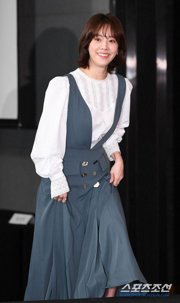 """Họp báo """"Dazzling"""": Sự chênh lệch chiều cao đáng yêu giữa Han Ji Min và Nam Joo Hyuk 1"""