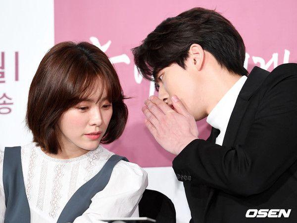 """Họp báo """"Dazzling"""": Sự chênh lệch chiều cao đáng yêu giữa Han Ji Min và Nam Joo Hyuk 21"""