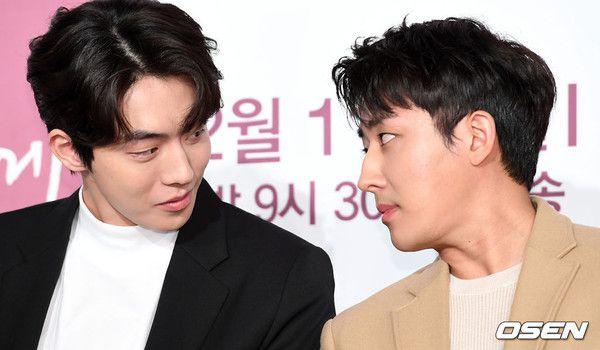 """Họp báo """"Dazzling"""": Sự chênh lệch chiều cao đáng yêu giữa Han Ji Min và Nam Joo Hyuk 22"""