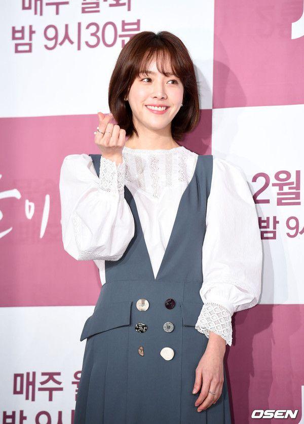 """Họp báo """"Dazzling"""": Sự chênh lệch chiều cao đáng yêu giữa Han Ji Min và Nam Joo Hyuk 2"""