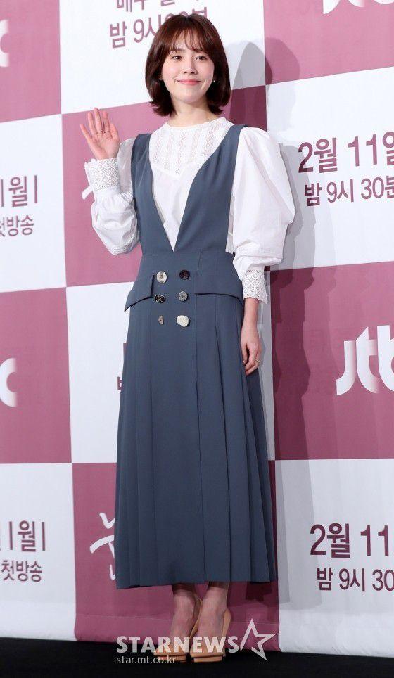 """Họp báo """"Dazzling"""": Sự chênh lệch chiều cao đáng yêu giữa Han Ji Min và Nam Joo Hyuk 3"""
