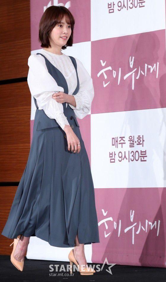 """Họp báo """"Dazzling"""": Sự chênh lệch chiều cao đáng yêu giữa Han Ji Min và Nam Joo Hyuk 4"""