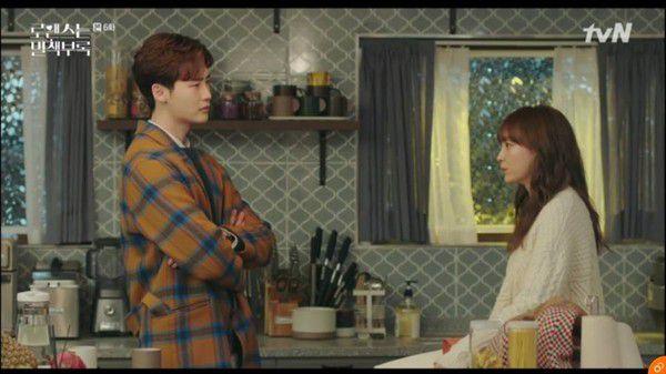 """""""Phụ Lục Tình Yêu"""" tập 5, 6: Lee Jong Suk ghen tuông và tình tay ba bắt đầu 15"""