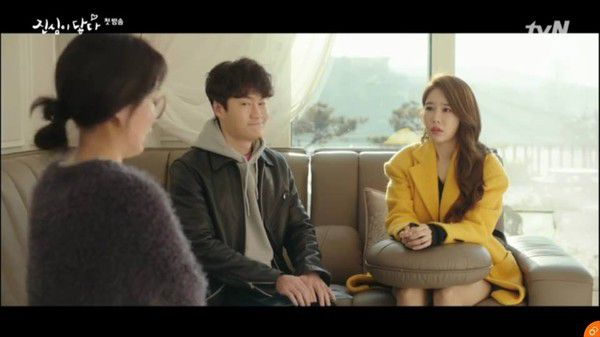 Tập 1, Touch Your Heart: Yoo In Na nghi ngờ giới tính của Lee Dong Wook 8