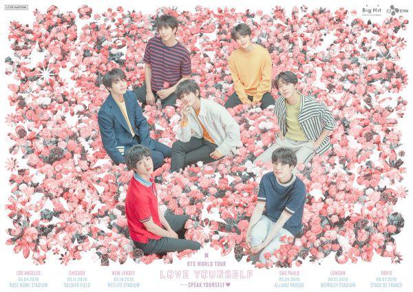 "BTS World Tour ""Love Yourself : Speak Yourself"" 2019 tại các SVĐ lớn thế giới 1"