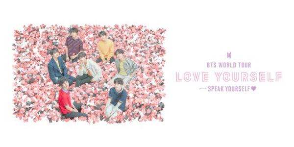 "BTS World Tour ""Love Yourself : Speak Yourself"" 2019 tại các SVĐ lớn thế giới 6"