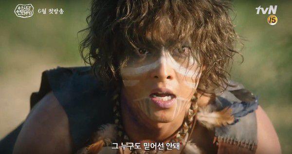 """""""Arthdal Chronicles"""" tung ảnh tạo hình của Song Joong Ki và công bố lịch chiếu 7"""