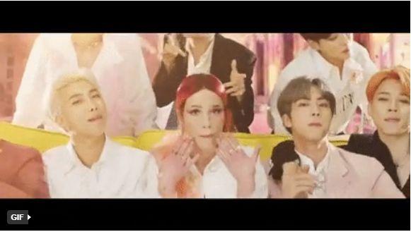 """Bất ngờ với siêu phẩm """"Boy with Luv"""" của BTS kết hợp cùng Halsey 1"""