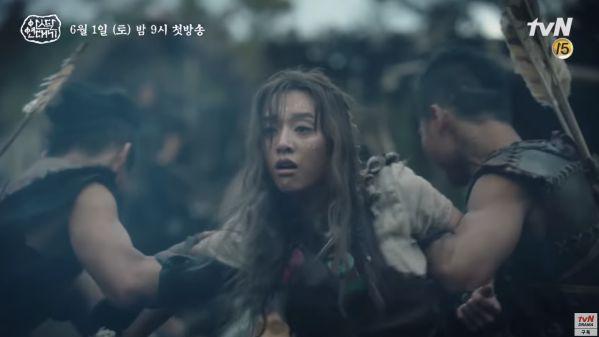 """""""Arthdal Chronicles"""" tung tạo hình nhân vật dũng mãnh của Jang Dong Gun 19"""