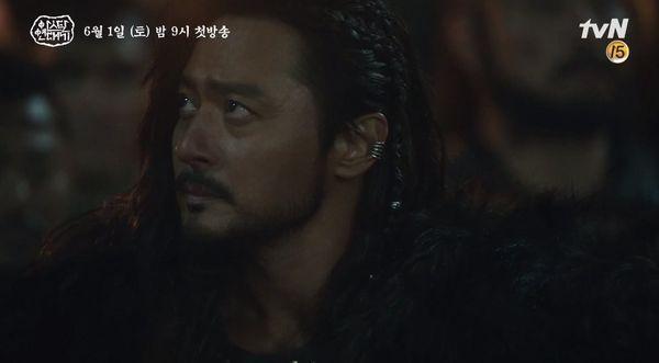 """""""Arthdal Chronicles"""" tung tạo hình nhân vật dũng mãnh của Jang Dong Gun 3"""