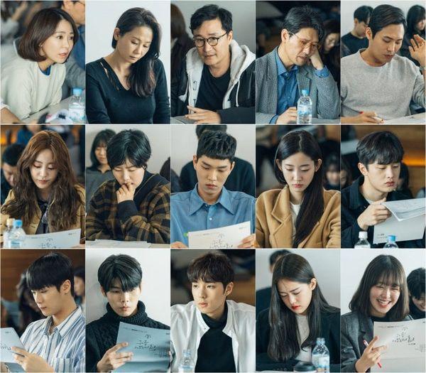"""Buổi đọc kịch bản trong phim """"Moments of 18"""" của Ong Seong Woo 1"""