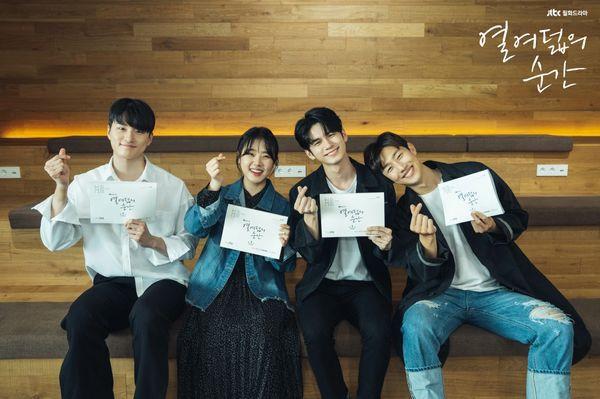 """Buổi đọc kịch bản trong phim """"Moments of 18"""" của Ong Seong Woo 2"""