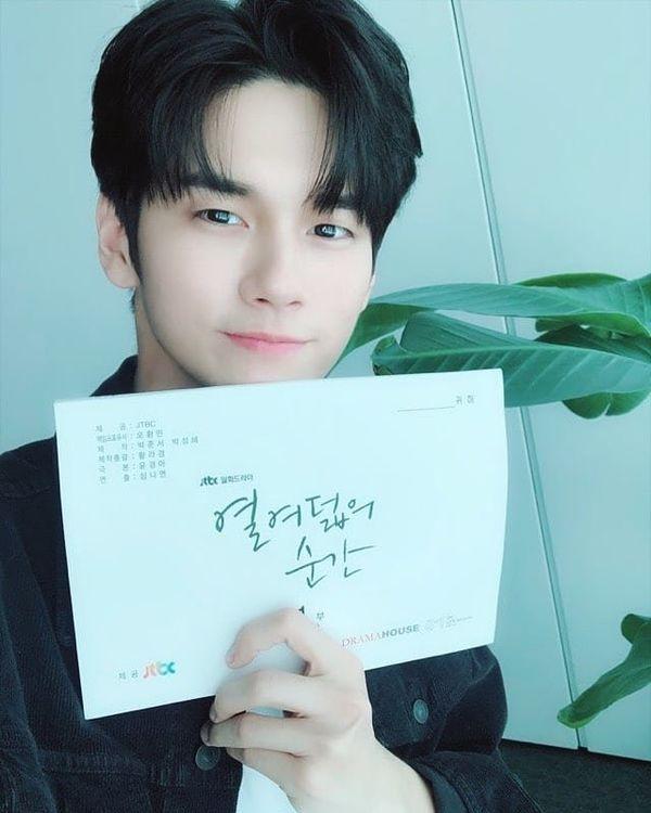 """Buổi đọc kịch bản trong phim """"Moments of 18"""" của Ong Seong Woo 3"""