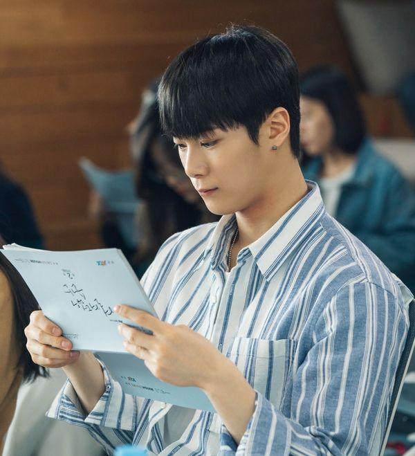 """Buổi đọc kịch bản trong phim """"Moments of 18"""" của Ong Seong Woo 8"""