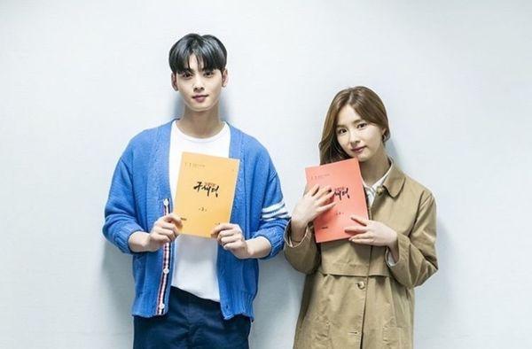 Đọc kịch bản phim, Shin Se Kyung và Cha Eun Woo đẹp tươi rạng ngời 16