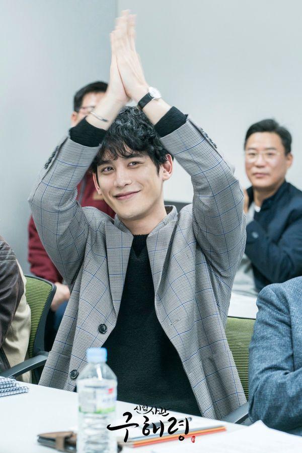 Đọc kịch bản phim, Shin Se Kyung và Cha Eun Woo đẹp tươi rạng ngời 9
