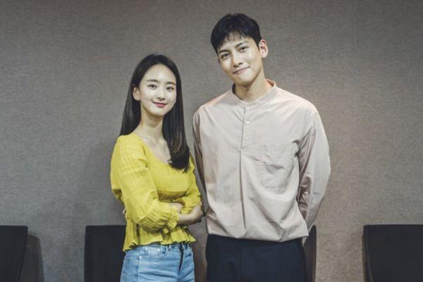 """Buổi đọc kịch bản """"Melting Me Softly"""" của Won Jin Ah, Ji Chang Wook 1"""