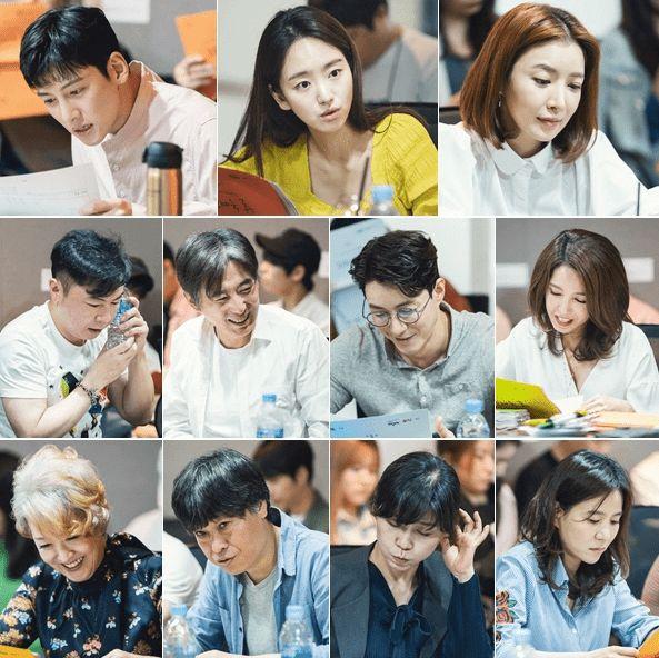 """Buổi đọc kịch bản """"Melting Me Softly"""" của Won Jin Ah, Ji Chang Wook 2"""