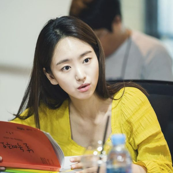 """Buổi đọc kịch bản """"Melting Me Softly"""" của Won Jin Ah, Ji Chang Wook 5"""