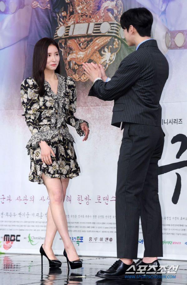 """Dàn diễn viên tham gia họp báo ra mắt """"Rookie Historian Goo Hae Ryung""""14"""