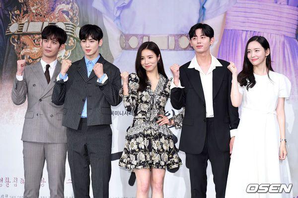 """Dàn diễn viên tham gia họp báo ra mắt """"Rookie Historian Goo Hae Ryung""""2"""