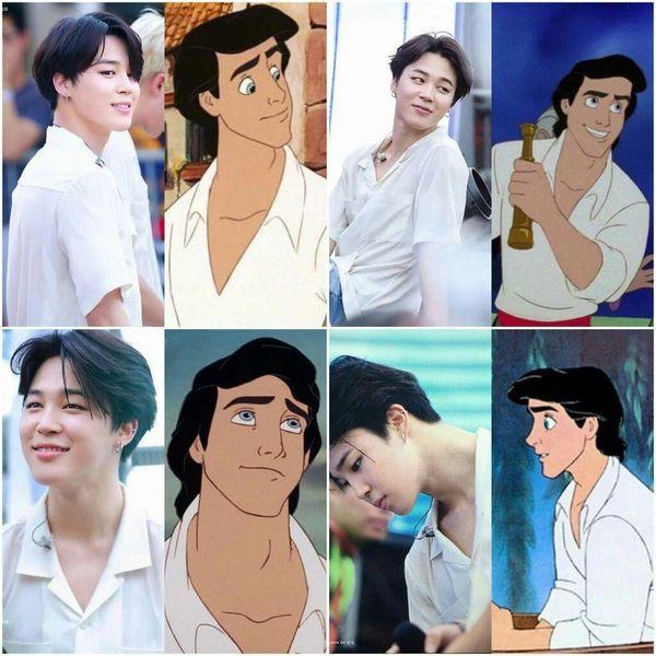 Knet phản đối khi fan đề nghị Jimin (BTS) vào vai Hoàng tử Eric 'The Little Mermaid' 2