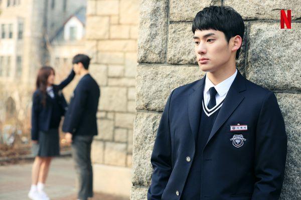 """""""Love Alarm"""" tung ảnh mới của Kim So Hyun, Song Kang và Jung Ga Ram 3"""