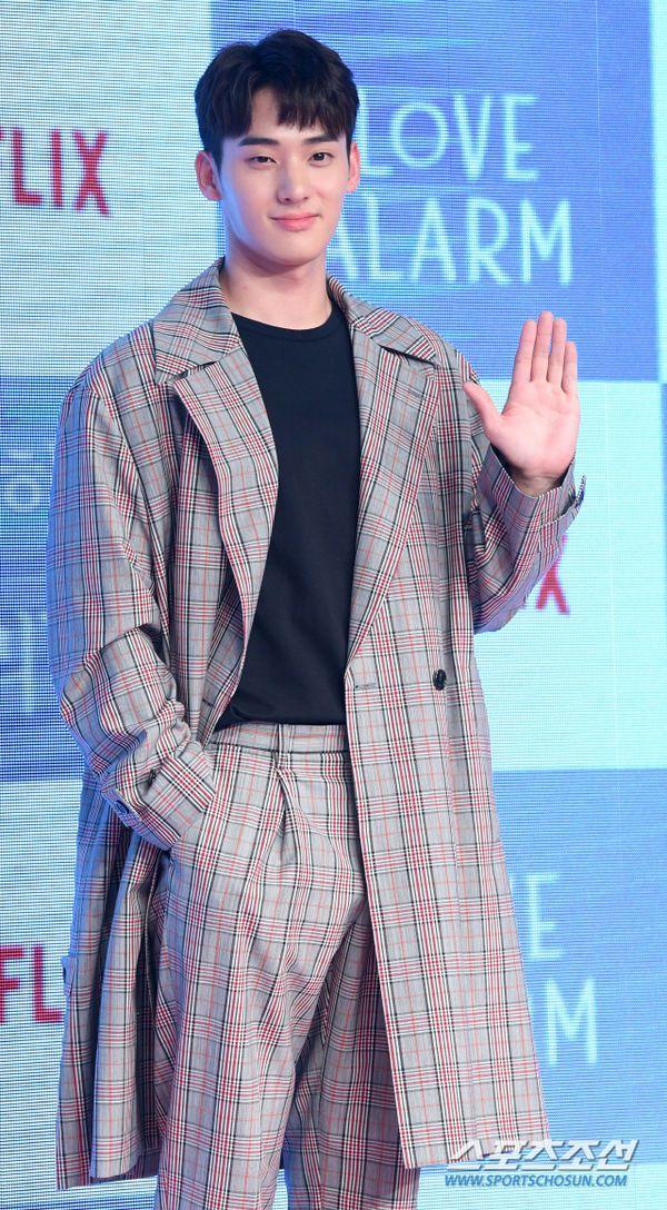 """Họp báo ra mắt """"Love Alarm"""": Kim So Hyun rạng rỡ bên Song Kang, Jung Ga Ram 12"""