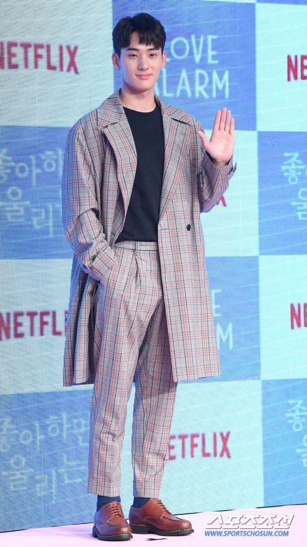 """Họp báo ra mắt """"Love Alarm"""": Kim So Hyun rạng rỡ bên Song Kang, Jung Ga Ram 13"""
