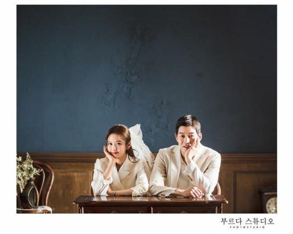 """Ngắm bộ ảnh cưới lung linh của Jang Nara và Lee Sang Yoon trong """"VIP"""" a"""