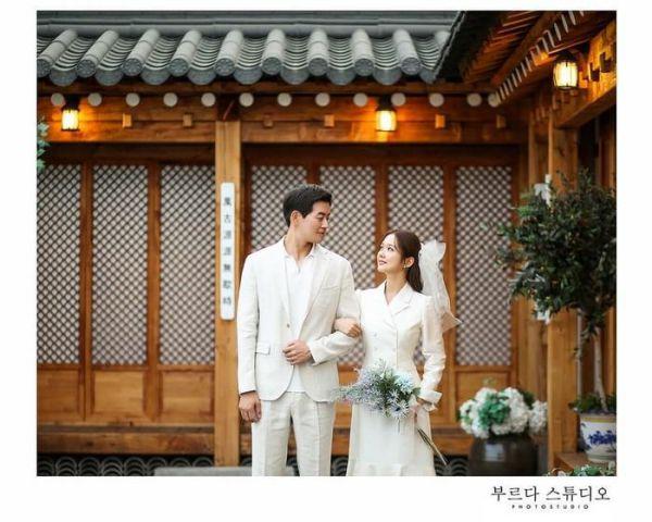 """Ngắm bộ ảnh cưới lung linh của Jang Nara và Lee Sang Yoon trong """"VIP"""" 4"""