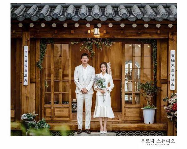 """Ngắm bộ ảnh cưới lung linh của Jang Nara và Lee Sang Yoon trong """"VIP"""" 5"""