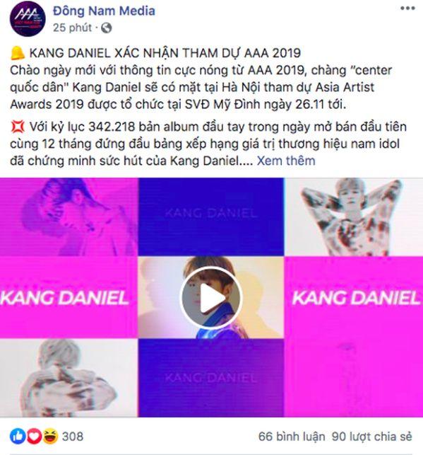 Chính thức: Dàn lineup nhóm nhạc, diễn viên tham gia AAA 2019 Việt Nam 33