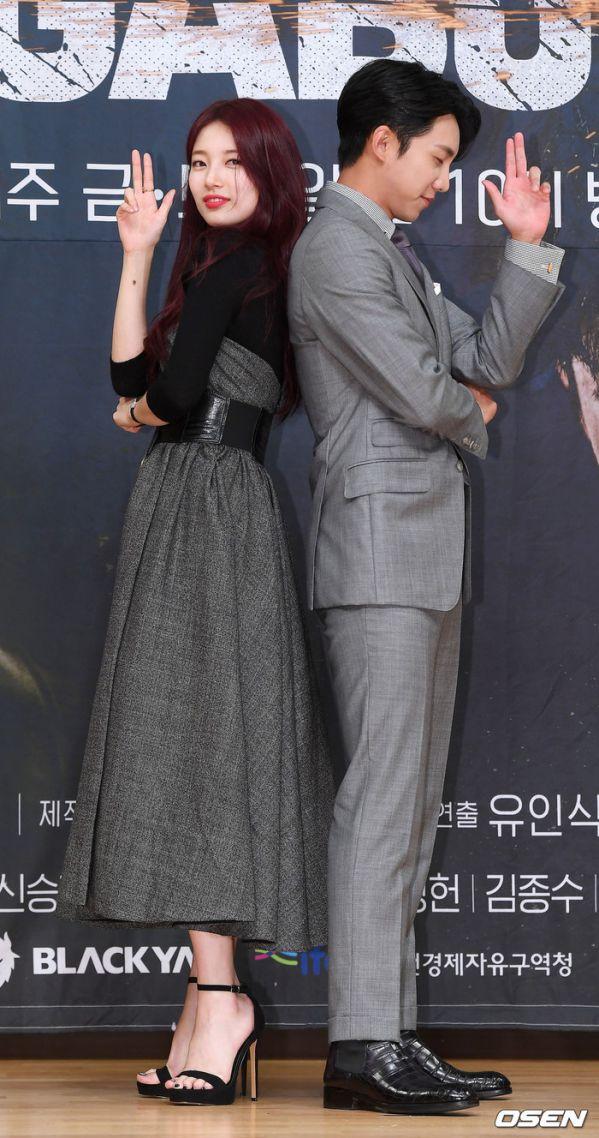 """Họp báo ra mắt """"Vagabond"""": Suzy xinh đẹp và quyến rũ bên Lee Seung Gi 9"""