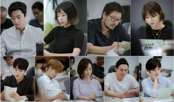 """Buổi đọc kịch bản """"Itaewon Class"""" của Park Seo Joon cùng dàn cast 2"""