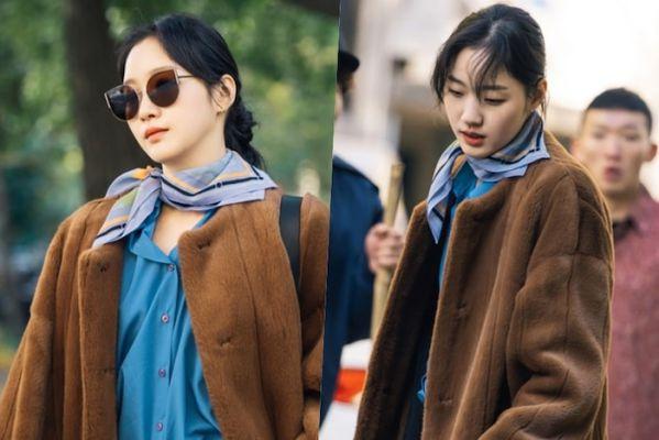 """Tạo hình ngọt ngào của Kim Go Eun trong """"Quân Vương Bất Diệt"""" 5"""