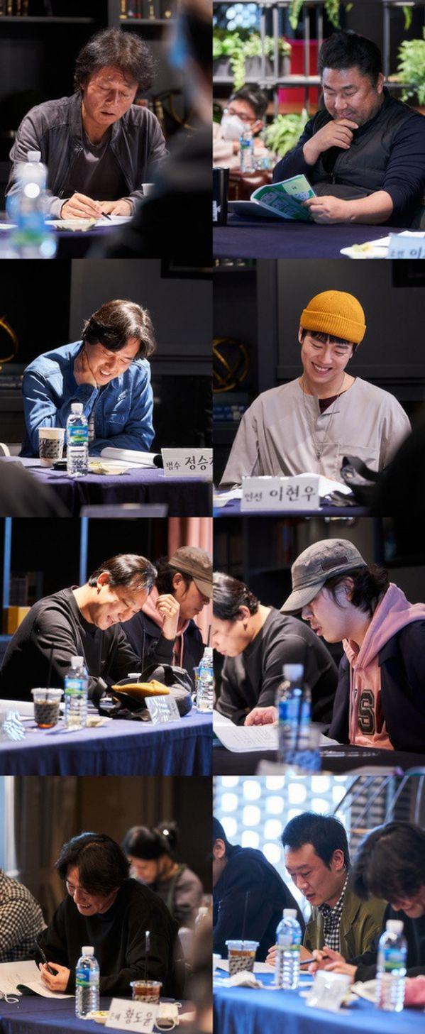 """""""Dream"""" tung ảnh buổi đọc kịch bản của IU, Park Seo Joon và dàn cast 6"""