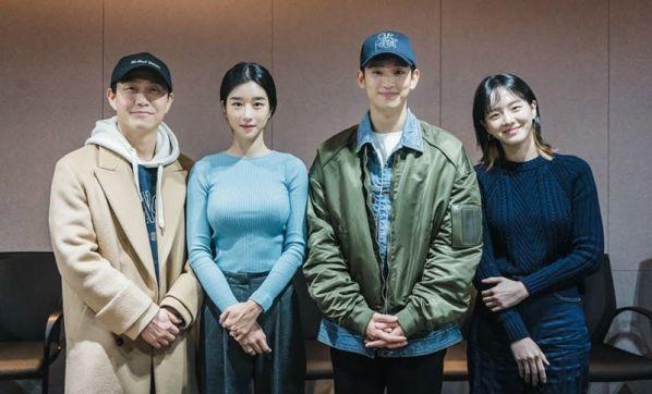 """Kim Soo Hyun và Seo Ye Ji cùng đọc kịch bản """"Psycho But It's Okay""""8"""