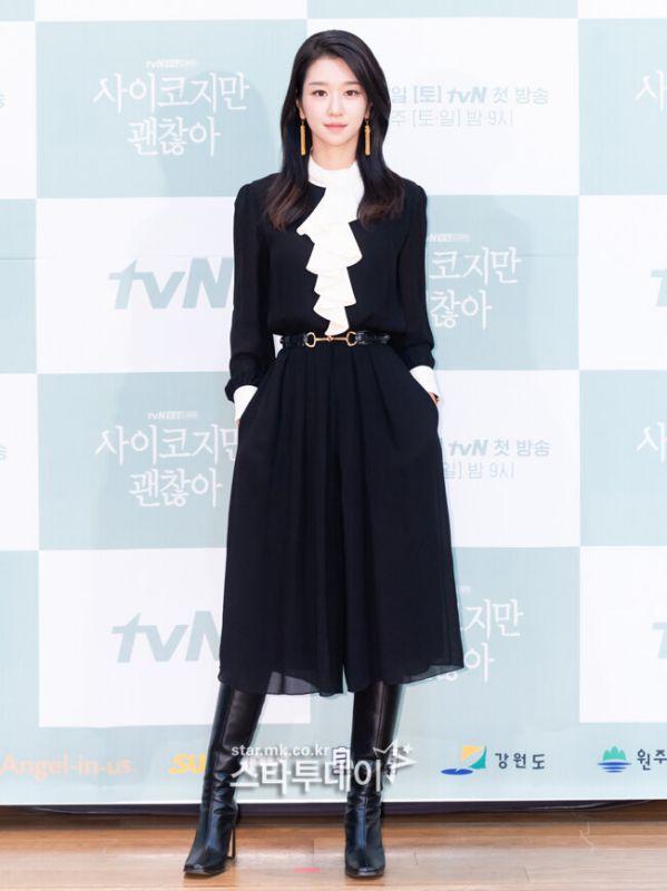 "Họp báo ""It's Okay To Not Be Okay"" Kim Soo Hyun, Seo Ye Ji quá đẹp 4"