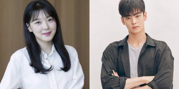 """Nữ phụ đóng """"Người Đẹp Gangnam"""" mê mệt vì Cha Eun Woo quá đẹp"""